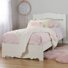 Complete Bed with Headboard - 39''