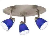 3 lights, Orbit, round,120V,GU-10, 50W each bulbs, included