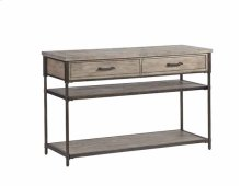 Sofa/Console Table - Washed Elm Finish