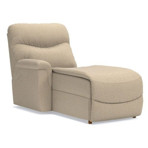 James Right-Arm Sitting Reclining Chaise