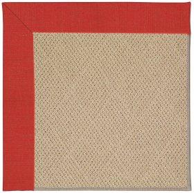 Creative Concepts-Cane Wicker Dupione Crimson