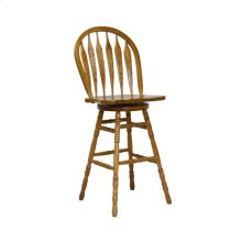 "30"" Colonial Windsor Bowback Barstool"