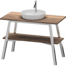 Vanity Unit Floorstanding, American Walnut (solid Wood)