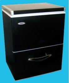 3.9 Cu. Ft. Capacity Drawer Dual Zone Freezer - Black