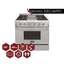 Model KRG3609U 36 Pro Class Kitchen Range
