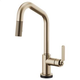 Smarttouch® Pull-down Faucet With Angled Spout and Industrial Handle