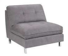 Armless Chair Gray