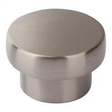 Chunky Round Knob Large 1 13/16 Inch - Brushed Nickel