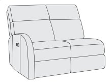 Maddux Left Arm Power Motion Loveseat