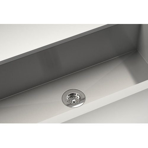 """Drain 100083 - Stainless steel sink accessory , Polished Chrome, 3 1/2"""""""