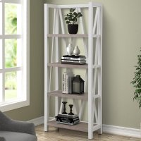 Americana Modern Cotton Etagere Bookcase Product Image