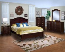 Victoria 6/0 WK Panel Bed - Night Stand