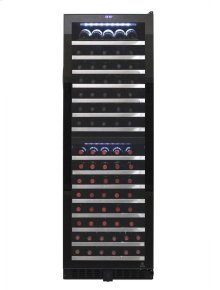 155-Bottle Dual-Zone Wine Cooler