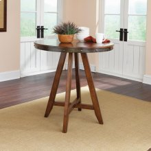 Round Counter-Height Table