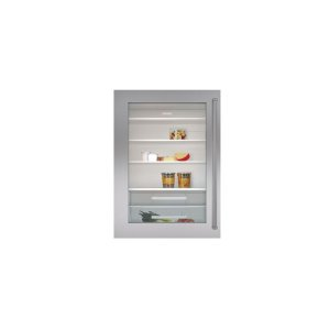 "SubzeroClassic 30"" Stainless Steel Dual Flush Inset Door Panel with Pro Handle"