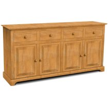 4 Door Buffet also Available with 4 Door Hutch (sku H-4B) Product Image