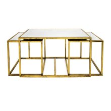 Ethan Mirror Tables - Set of 3