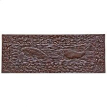 Double Trout Panel - TT805 Silicon Bronze Brushed