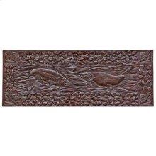 Double Trout Panel - TT805 Silicon Bronze Dark