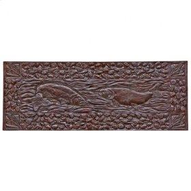 Double Trout Panel - TT805 White Bronze Dark