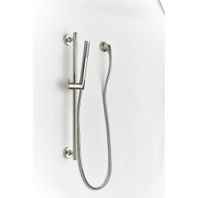 Polished Nickel River (Series 17) Slide Bar with Hand Shower