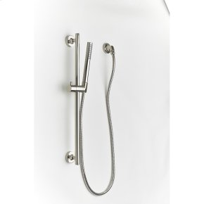 Polished Nickel River (Series 17) Slide Bar with Hand Shower