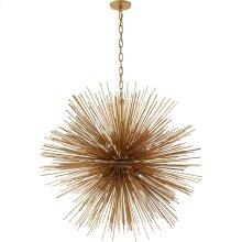 Visual Comfort KW5072G Kelly Wearstler Strada 20 Light 40 inch Gild Pendant Ceiling Light, Kelly Wearstler, Large, Round
