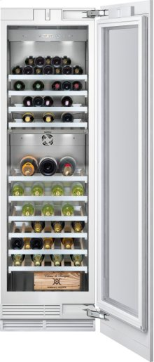 "Vario Wine Climate Cabinet 400 Series Fully Integrated, With Glass Door Width 24"" (61 Cm)"