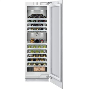 "Gaggenau400 Series Wine Storage Unit Fully Integrated, With Two Temperature Zones Width 24"" (61 Cm)"