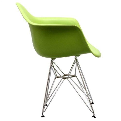 Paris Dining Armchair in Green