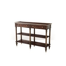 The Georgian Three Tier Console Table