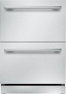 """24"""" UNDER-COUNTER DOUBLE DRAWER REFRIGERATOR T24UR910DS"""