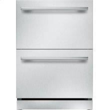 24-Inch Under-Counter Double Drawer Refrigerator/Freezer
