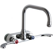 Hot and Cold Water Workboard Sink Faucet