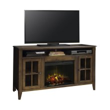 """Brownstone 60"""" Fireplace Console"""