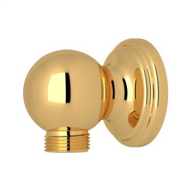 English Gold Perrin & Rowe Wall Outlet For Handshower