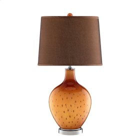 October Glass Table Lamp
