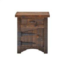 Woodland Park 1 Door 1 Drawer Nightstand - Hinged Left