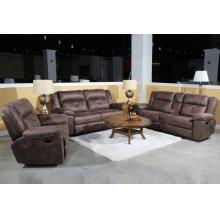Mercer Dual Recliner Sofa W/pwr Hr& Fr
