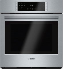 "800 Series 27"" Single Wall Oven, HBN8451UC, Stainless Steel"