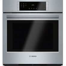 800 Series built-in oven 27'' Stainless steel HBN8451UC