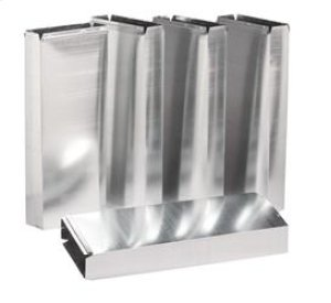 """3-1/4"""" x 10"""" Duct Sections for Range Hoods and Bath Ventilation Fans"""
