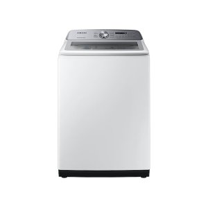 SamsungWA5200 5.0 cu. ft. Top Load Washer with Active WaterJet in White