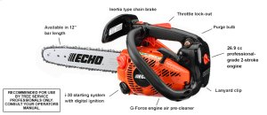 CS-271T 26.9cc Top Handle Chain Saw