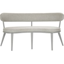 Select Dining Half Moon Banquette Bench