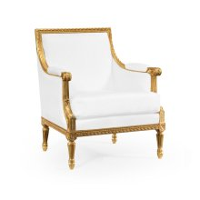 Occasional Chair Upholstered in COM