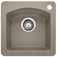 Blanco Diamond Bar Sink - Truffle