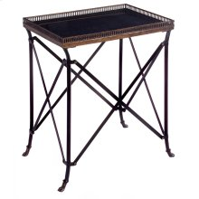 Rectangular Black Accent Table