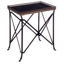 Rectangular Black Accent Table