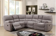 Ramsey Mica Reclining Sectional, M6057